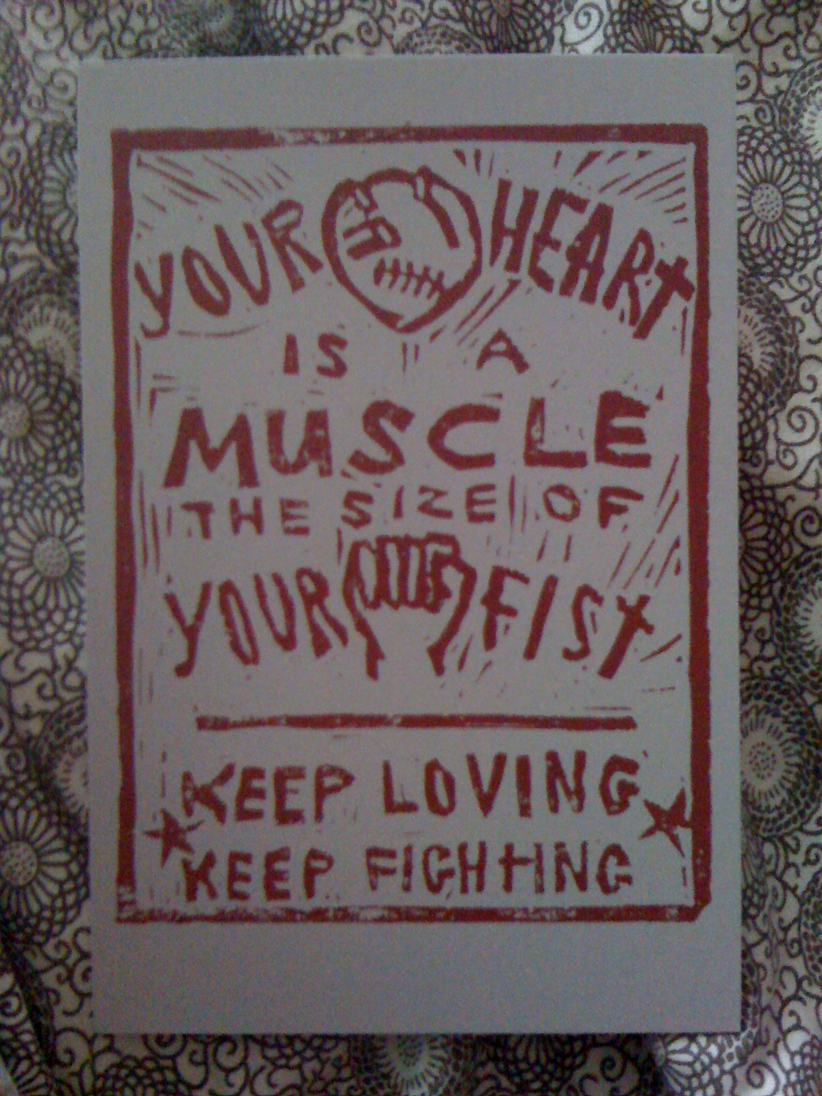 Is Your Heart The Size Of Your Fist Alumnortheastfitnessco